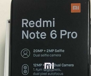 Leak Image of Xiaomi Redmi Note 6 Pro with Dual Selfie Camera